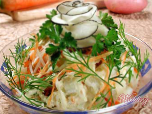 Русский салат фото